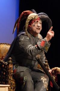 Der Sterndeuter (Schwarzer Peter) im Papageno Musiktheater